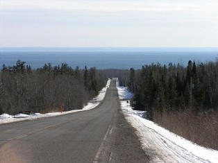 Bergquist Road (Bomark) to Lake view