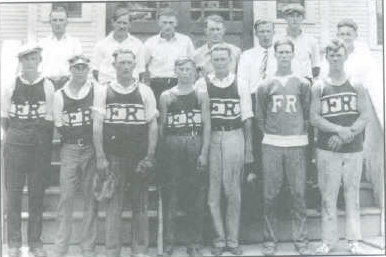 French River basketball team 1929