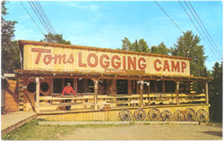 toms logging camp