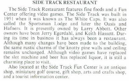 sidetrack story