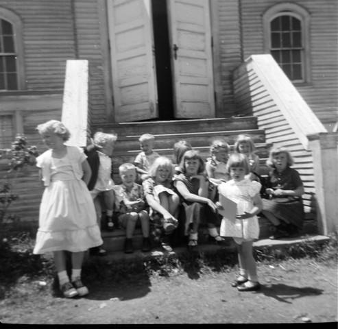 church and kids