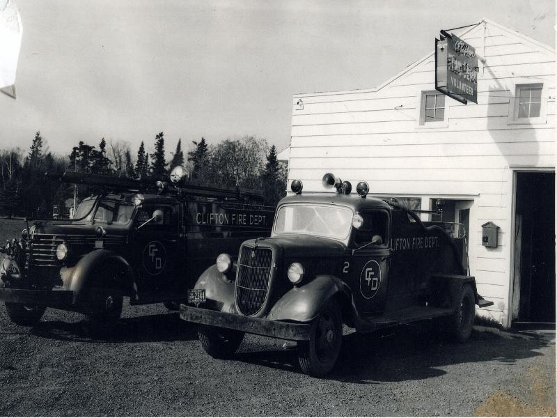 clifton fire trucks