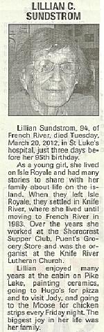 Lillian obit 1